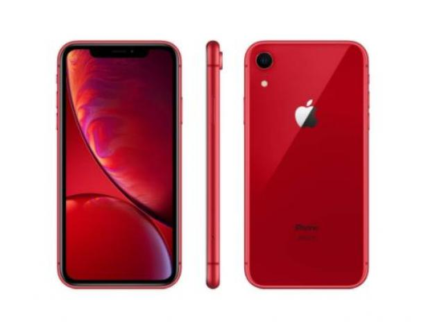 Apple iPhone XR (64GB, (PRODUCT)RED) + Cricket Wireless Plan - 3