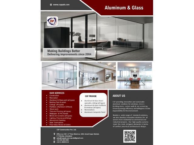 Aluminum & Glass - 1