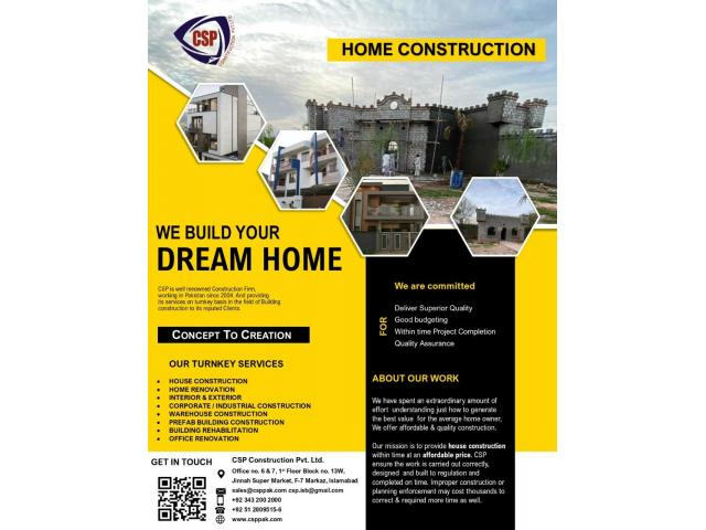 House Construction - 1