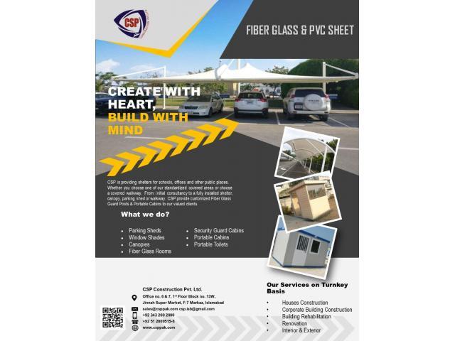 Fiber Glass & Pvc Sheet - 1